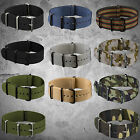 INFANTRY MILITARY NYLON FABRIC CANVAS WATCH STRAP BAND HEAVY DUTY DRIVE STRONG
