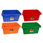 NEW WHAM Stackable Strong Storage Boxes for Toys Craft Tools Plastic Tubs