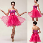 New Ladies Evening Party Prom Ball Gowns Wedding Bridesmaid Cocktail Short Dress