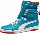 Puma My-68 High Top Men's Shoes, Blue/White