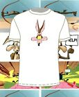 100%Cotton Heavyweight  COYOTE t-shirt. 7 colours. S-XXXL  FREE POST. roadrunner