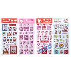 KOREA MADE SANRIO HELLO KITTY 3D CARTOON DECORATIVE STICKERS