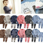 "High Quality NWT Baby Kids Boy Girl Winter Napped Sleepwear Pyjama""Warm Nap Set"""
