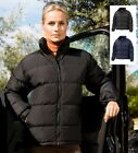 Result Ladiess Womens Down Feel Padded Jacket Coat Soft Feel Peached Outer