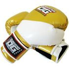 GOLD 'METALLICA' A/L KICK BOXING MARTIAL ARTS BOXING GLOVES