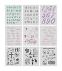 VIVA DECOR Clear Stamps MY PAPER WORLD Silikon Stempel KIRCHLICHE FESTE, TEXTE 1