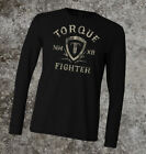 Torque Fighter Thermal Shirt (Black) - mma bjj ufc