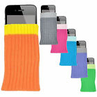 NEW SKIN FITS STYLISH SOFT SOCKS POUCH CASE COVER MORE COLORS FOR CELL PROTECT