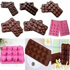 Chocolate Candy Jelly Cake Baking Silicone Mould Mold Flower Butterfly Flexible