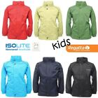 Regatta Fuselage II Boys Girls Lightweight Waterproof Rain Coat Jacket RKW936