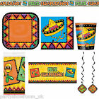 Wild West Mexican Fiesta Festivity Party Tableware Decorations 1 Listing PS