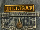 DILLIGAF BIKER TRIKER EMBROIDERED SEW ON PATCH SEW ON