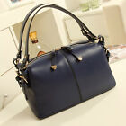 New Women Fashion Faux Leather Tote Handbag Bag Shoulder Satchel C8