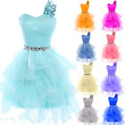 Candy Colors Sweet Homecoming Party Prom Evening Formal Wedding Dress Ball Gown