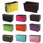 Women Lady Travel Insert Handbag Organizer Purse Large Liner Tidy Bag new
