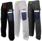 MAX LTD 180 - JOGGING BOTTOMS - 3 MANNING DESIGNS FLEECE FITNESS TROUSERS