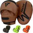RDX Leather MMA Grappling Gloves Fight Boxing UFC Punch Bag Sparring AU