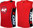 RDX Gym Vest Mens Top BodyBuilding Fitness Boxing Tank TShirt Stringer Running A