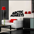 LARGE MUSIC ROCK BAND ARTIC MONKEYS LOGO AM WALL STICKERS DECAL TRAMSFER