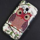 Owl Case Cover Pouch For Samsung Galaxy S Duos 2 S7582 S7560 Trend Plus S7580