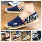New Mens Canvas Casual Loafer Shoes Moccasins Driving Shoes 5 Styles