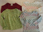 CHEROKEE or OLD NAVY Baby Girls 9 12 18 24 Month Shirt Choice NWT Long Sleeve
