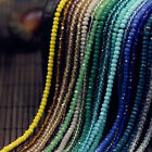 Внешний вид - Lots Rondelle Faceted Crystal Glass Loose Spacer Beads 4/6/8/10mm Jewelry DIY