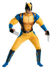 Adult Wolverine Origins Muscle Halloween Costume