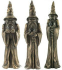 EXCEPTIONAL COLD CAST BRONZE WIZARD FIGURINE CHOICE OF 3 BRAND NEW & BOXED
