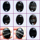 Wholesale 40mm Blue tiger eye oval cabochon semi-precious gemstone