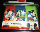 New Disney Mickey Mouse 3 Pack Boys Briefs Pants Undies Age 2-3