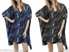 Plus size 22-32 UK Ladies womans summer holiday evening kimono kaftan top tunic