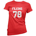 Filkins 79 - Womens / Ladies T-Shirt - Zach - Republic - 11 Colours