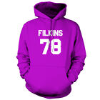 Filkins 79 - Unisex Hoodie / Hooded Top - Zach - Republic - 9 Colours