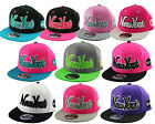 T.Headwear NEW YORK NY Script SNAPBACK Flat Peak Baseball Cap Snap Back One Size