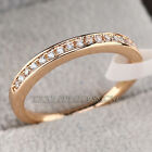A1-R3130 Fashion Band Ring 18KGP Pave Prong-set Swarovski Crystal