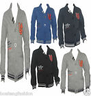 BOYS  VARSITY JACKET CHILDREN COLLEGE JUMPER KIDS SWEATSHIRT clothing  Cardigan