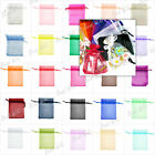 20pcs Organza Wedding Favor Gift Bags Pouches Jewelry Pouches 6 Size Free Ship