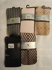 Worthington Floral Lace Diamond Weave or Modern Chevron Tights Choice S M L NWT