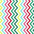 MINI CHIC CHEVRON GARLAND - PRIMARY RAINBOW -  MICHAEL MILLER COTTON FABRIC