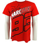 2014 Official Marc Marquez 93 Black The Ant Moto GP T-shirt Red