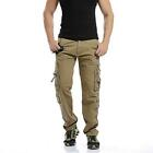 Men's Leisure Pants Cargo Overalls Training Tactical Climbing Britches Trousers