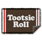 Tootsie Roll Wrapper Candy Logo Two-Sided Print Woven Throw Blanket Tapestry