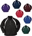 MEN'S FULL ZIP, LINED, WARM UP JACKET, WIND & WATER RESISTANT, S M L XL 2X 3X