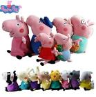 Peppa Pig Family and Friends playset- Soft Plush Teddy doll Figure Toys