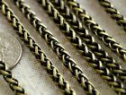 4.5mm Vintage Style Chain Plated Wheat Rope Chain Necklace c247