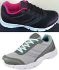 LADIES TRAINERS PREMIER CUSHION JODIE SPORTS GYM JOGGING RUNNING BOOTS SIZE 3-8