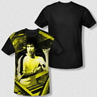 Bruce Lee's Game Of Death Costume Photo All Over Front Sublimation T-shirt Top