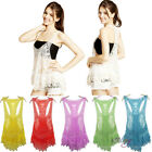 New Women Lady Sexy Lace Crochet Sleeveless Swimwear Bikini Cover Up Beach Dress