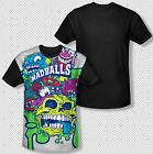 Madballs Squished Altogether Toy Logo All Over Front Sublimation T-shirt Top
